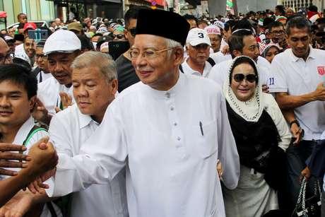 Ex-premiê da Malásia Najib Razak em Kuala Lumpur 08/12/2018 REUTERS/Sadiq Asyraf