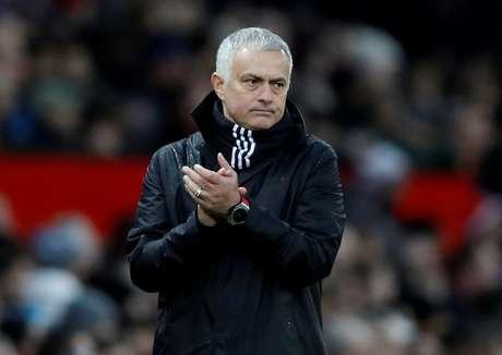 Técnico José Mourinho 08/12/2018 Action Images via Reuters/Carl Recine
