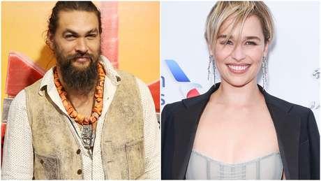 Jason Momoa e Emilia Clarke são anunciados como novos apresentadores do Oscar 2019
