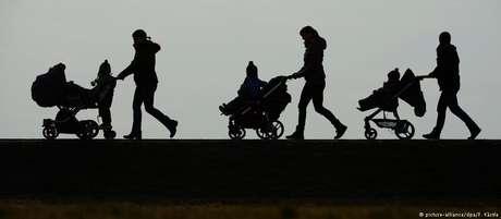 Primeiros furtos sistemáticos de carrinhos de bebê em Berlim foram registrados em 2007