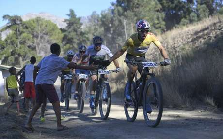 Henrique Avancini foi campeão de prova na África do Sul (Foto: Zoon Cronje / www.zcmc.co.za)