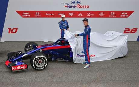 Lançamentos da F1: Toro Rosso e Williams apresentarão seus novos carros nesta segunda-feira