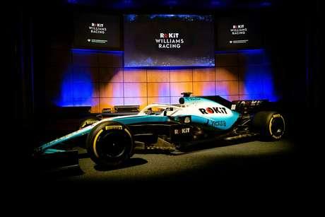 Williams apresenta o FW42 com pintura azul degradê e novo patrocinador
