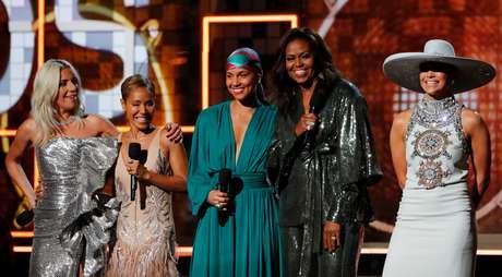 Lady Gaga, Jada Pinkett-Smith, Alicia Keys, Michelle Obama e Jennifer Lopez
