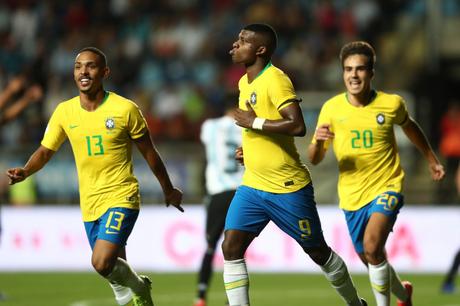 Lincoln foi o autor do gol brasileiro contra a Argentina
