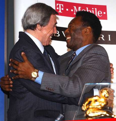 Gordon Banks e Pelé