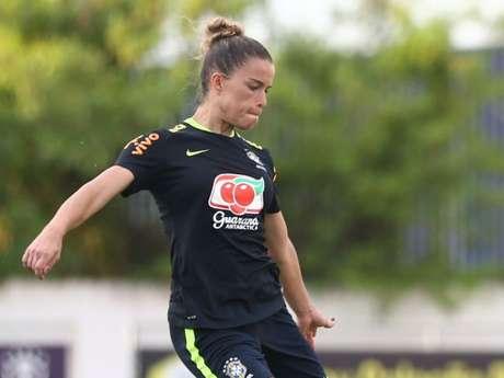 Tamires, da Seleção Brasileira