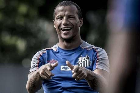 Sánchez é titular do Santos desde sua chegada ao clube: são 26 jogos desde o meio de 2018 (Foto: Ivan Storti/Santos)