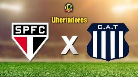 Partida definirá o classificado para a próxima fase da Copa Libertadores (Apresentação  LIBERTADORES: São Paulo x Talleres)