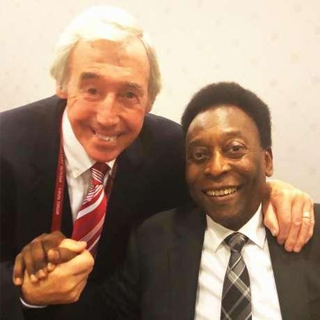 Pelé se despede de Gordon Banks e relembra da 'Defesa do Século' (Foto: Divulgação)