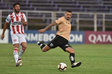 Santos empatou em 0x0 com o River (URU)