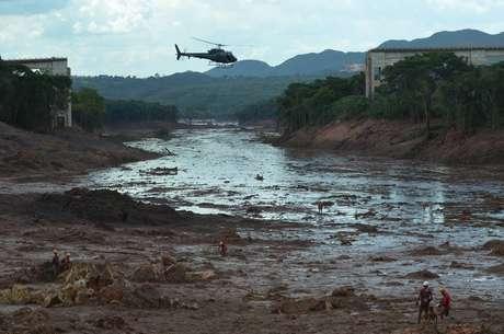 Onde de lama em Brumadinho deixou rastro de destruição