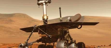 O Opportunity desembarcou em 2004 em Marte e viajou 45 km no planeta vermelho
