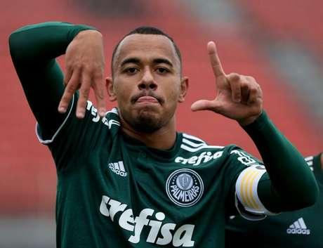 O jogador foi revelado nas categorias de base do Palmeiras e estava disputando o Sul-Americano sub-20 com a Seleção Brasileira, no Chile- Divulgação/Agência Palmeiras