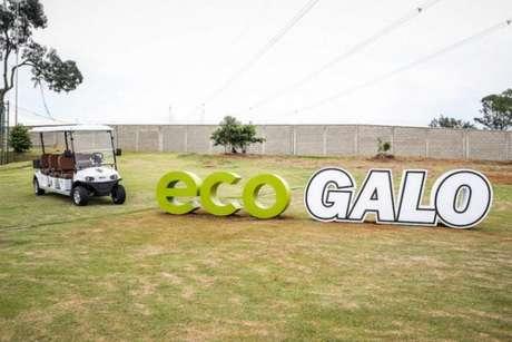 O EcoGalo é a primeira iniciativa no país de um CT sustentável- Divulgação/Atlético-MG
