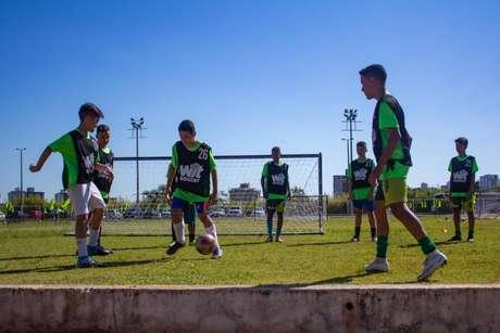 O APP Wit Soccer já encaminhou seis jogadores para o Cruzeiro- Divulgação