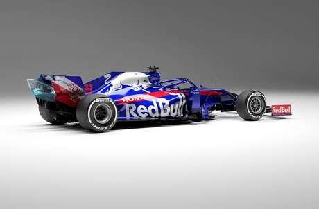 Toro Rosso pronta para entrar na pista