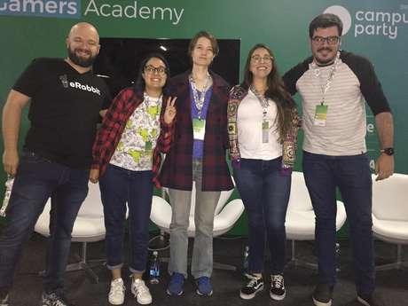 Painel sobre empregos em e-Sports na Campus Party 2019