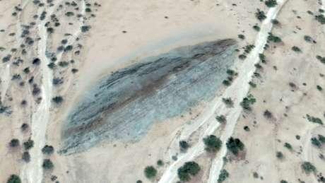 Passagem do gelo é a responsável pelos sulcos nas formações rochosas da Namíbia