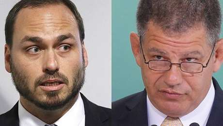 Carlos Bolsonaro disse quesecretário-geral da Presidência da República, Gustavo Bebianno, mentiu sobre contatos com o presidente