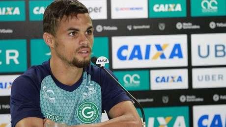 Michael é monitorado pelo Peixe desde o fim do ano passado. Goiás não quer liberar o atleta (Rosiron Rodrigues/GEC)