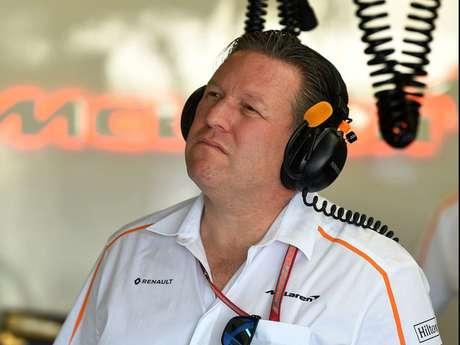 Brown afirma que Mclaren estava 'com muita expectativa' no início da parceria com a Renault