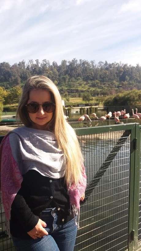 Bruna, 26 anos, também é portadora de picnodisostose. A doença genética com padrão de herança autossômico recessivo, ou seja, mais frequente em filhos de casais consanguíneos