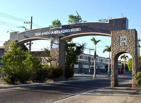 O município de Belford Roxo fica na região norte do Estado do Rio de Janeiro