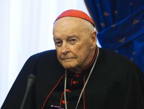Ex-cardeal católico nos EUA, Theodore McCarrick. 17/9/2011. REUTERS/Morteza Nikoubazl (IRAN - Tags: POLITICS PROFILE RELIGION) -