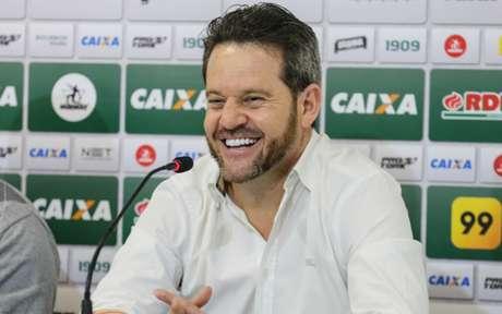 Em 18 jogos no comando do Coxa, o treinador venceu seis, empatou oito e perdeu quatro (Geraldo Bubniak/AGB)