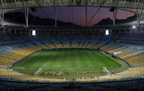 Estádio do Maracanã estará vazio na final da Taça Guanabara entre Fluminense e Vasco.