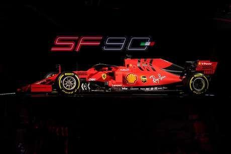 Vettel dá à Ferrari SF90 sua estréia na pista
