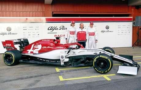 Pré-temporada da F1: Alfa Romeo apresenta o C38 antes do início dos testes em Barcelona