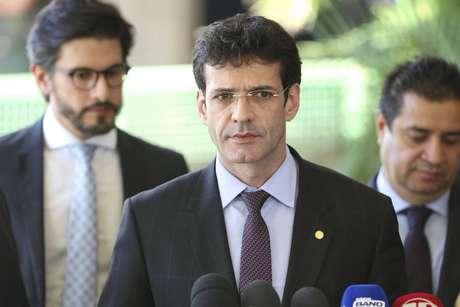 Ministro do Turismo, Marcelo Álvaro Antônio; ele presidiu o diretório estadual do PSL de Minas Gerais durante a campanha de 2018 e é investigadoporenvolvimento com candidaturas 'laranja'