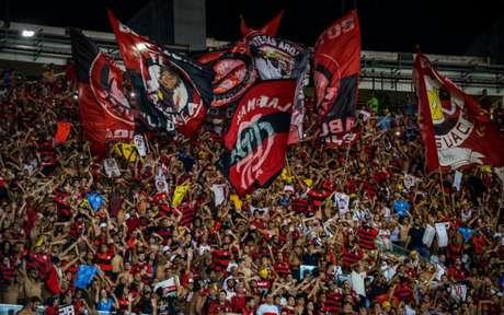 Torcida do Flamengo tem comparecido em grande número no Maracanã (Alexandre Vidal / Flamengo)