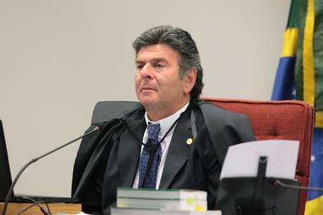 Ministro Luiz Fux preside sessão da Primeira Turma do STF (05/02/2019)