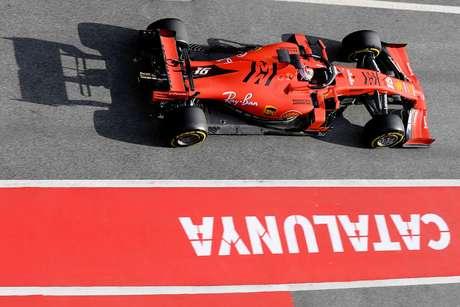 Pré-temporada da F1: Leclerc termina o segundo dia um décimo atrás de Vettel; Fittipaldi fez sua estreia na Haas