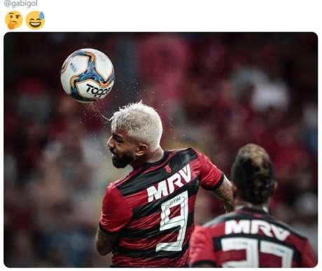 Gabriel Barbosa ainda não conseguiu marcar pelo Flamengo