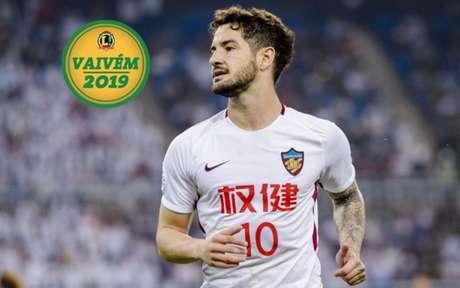 Pato vai receber proposta do Santos se conseguir sua rescisão contratual com oTianjin Quanjian (Foto: Divulgação)