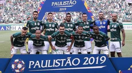 Equipe que sofreu única derrota do clube no ano deve ter oito mudanças para sábado (Agência Palmeiras/Divulgação)