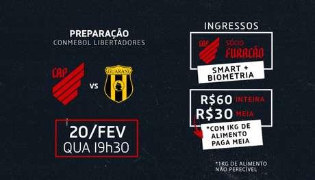 Foto: Divulgação/Athletico Paranaense