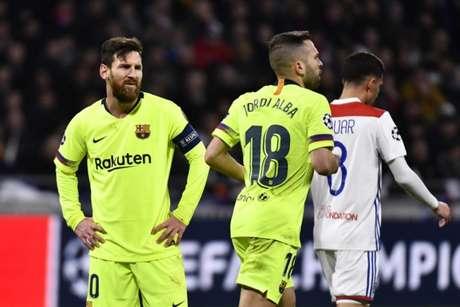 Messi até que tentou, mas não marcou (Foto: AFP)