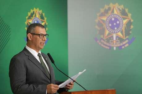 O General Otávio Rêgo Barros, porta-voz da Presidência da República