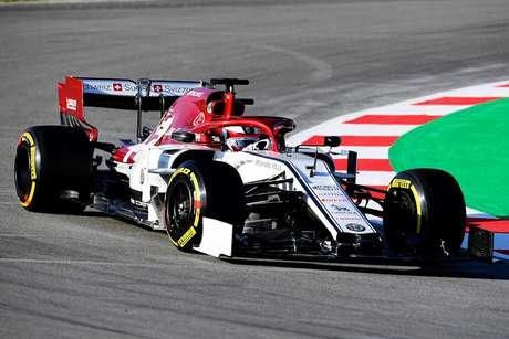 Pré-temporada da F1: Raikkonen e Alfa Romeo desbancam a Ferrari no topo da tabela de tempos em Barcelona