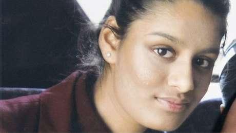 Shamima Begum tinha 15 anos quando deixou o Reino Unido em 2015