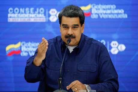 Presidente Nicolás Maduro 18/02/2019 Palácio de Miraflores/Divulgação via REUTERS