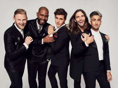 "Apresentadores do ""Queer Eye"""