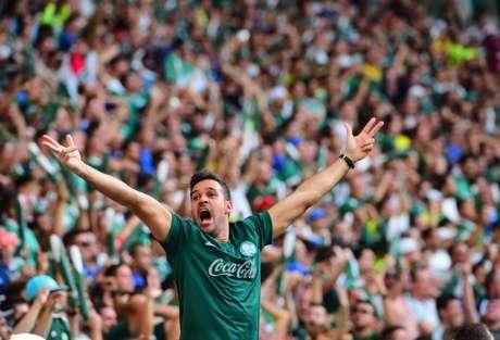 Torcida do Palmeiras comprou 26 mil ingressos para clássico de sábado, contra o Santos (Foto: Divulgação/Palmeiras)
