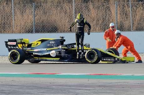 Pré-temporada da F1: Apesar de problemas com sua Renault, Hulkenberg lidera a primeira semana em Barcelona