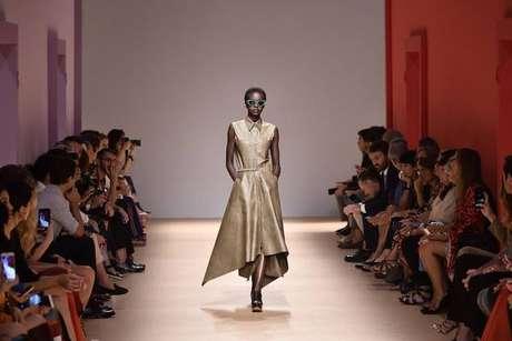 Desfile da Salvatore Ferragamo na Semana de Moda de Milão de 2018